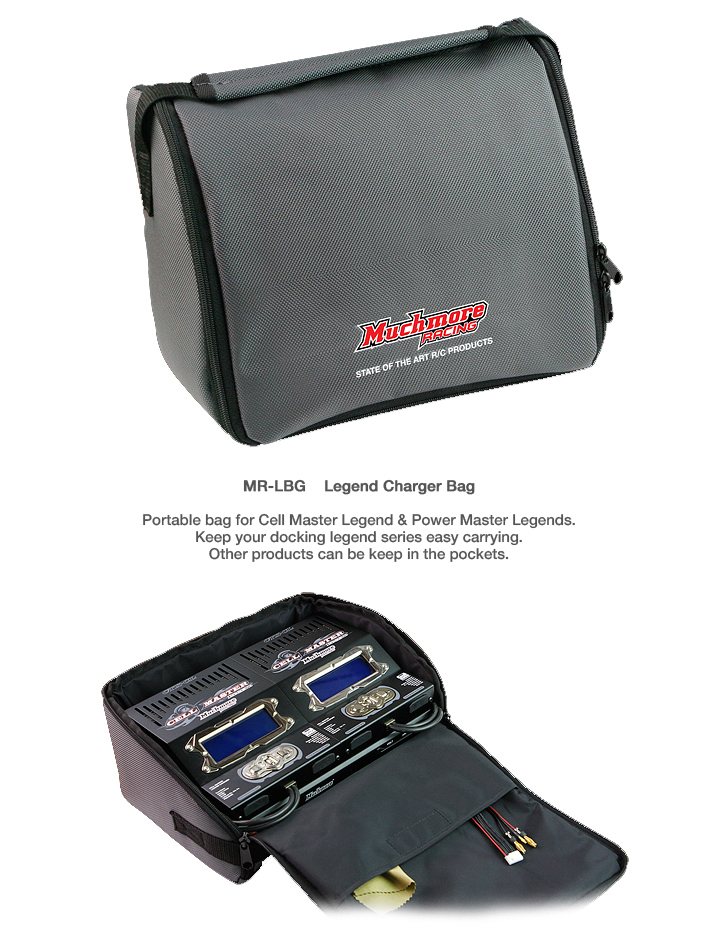 MR-LBG Legend Charger Bag by Muchmore Racing Co., Ltd.