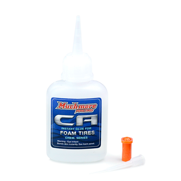 CHC-AS C.A  Instant Glue for FOAM Tires (20g) by MuchmoreRacing Co., Ltd.