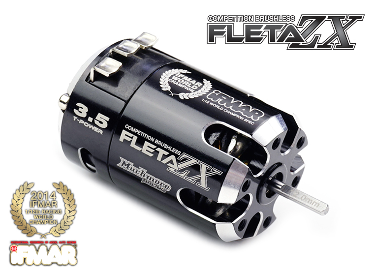 MR-FZX035WC1 FLETA ZX 3.5T 1:12 World Champion Spec Brushless Motor By Muchmore Racing Co., Ltd.