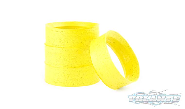 VL-MISVolante Mold Tire Inserts Soft(Yellow) 4pcs by VOLANTE