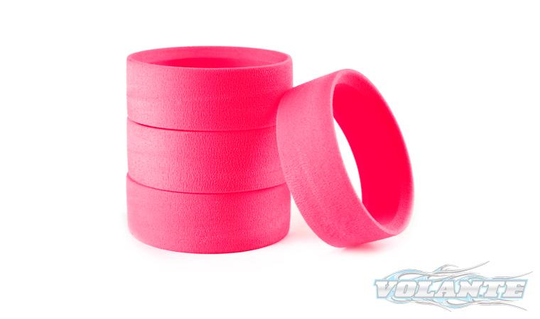 VL-CCMVolante High Density Closed Cell Tire Inserts Medium(Pink) 4pcs By VOLANTE