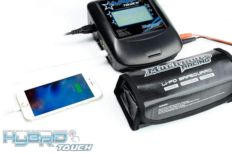 MM-HBTK Hybrid Touch AC/DC Balance Charger&Discharger