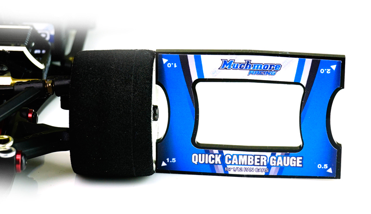 MR-CGS4 Quick Camber Gauge 0.5 to 2.0 Angle 0.5step for 1/12 Pancar