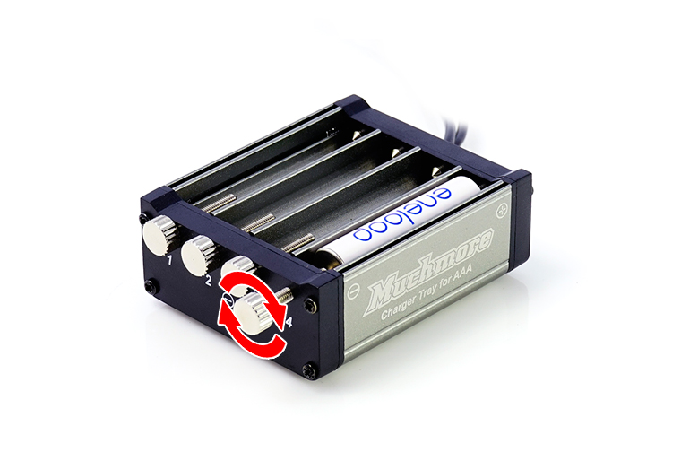 MR-3ACT AAA Battery High Current Charging Tray