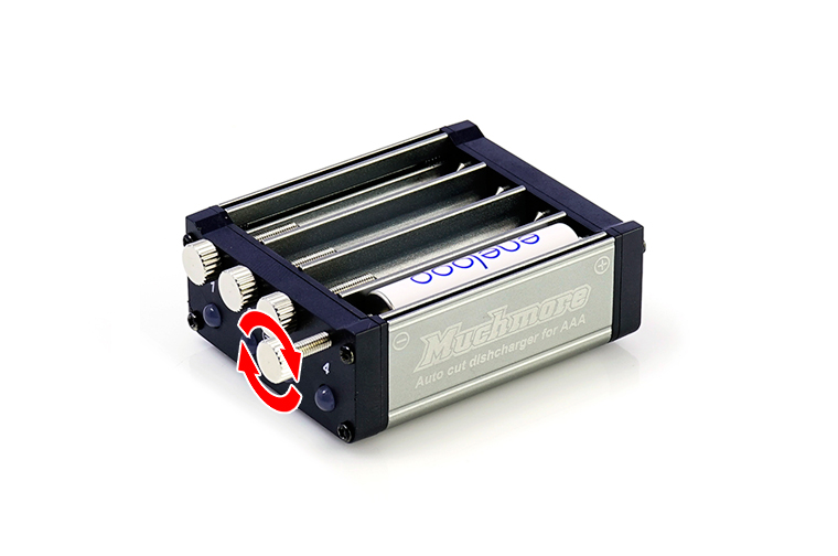 MR-3ADC AAA Battery Auto Cut Individual Discharger