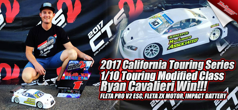 2017 California Touring Series Ryan Cavalieri Win!!!