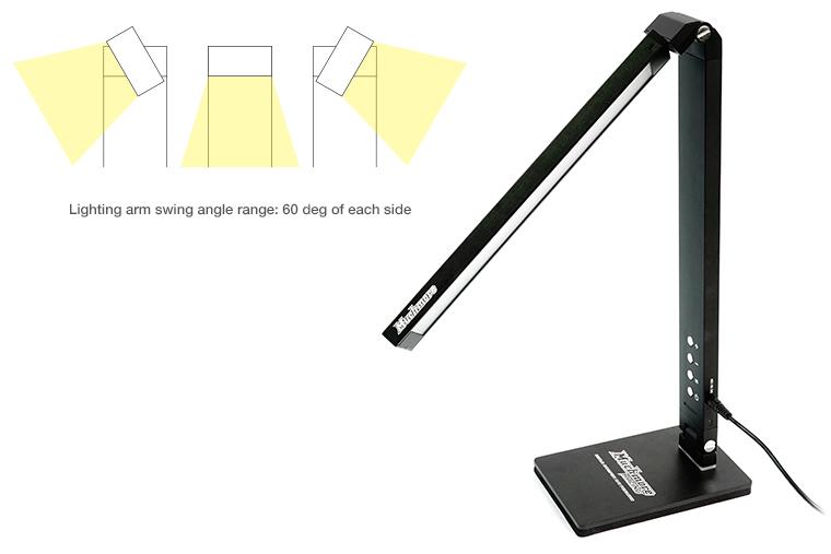 MR-LEDPK LED Pit Light Stand Pro Black LEDPro