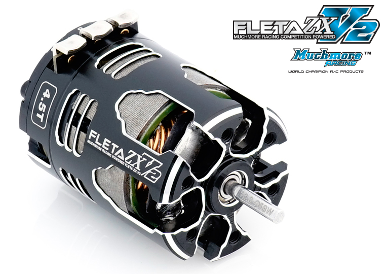FLETA ZX V2 Brushless Motor by Muchmore Racing Co., Ltd.