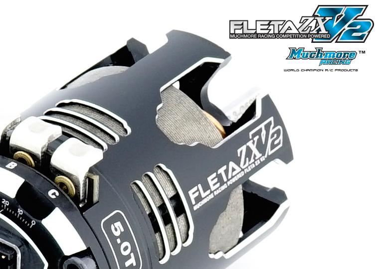 FLETA ZX V2 Brushless Motor by Muchmore Racing Co., Ltd.