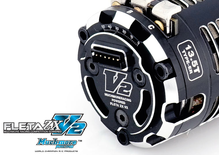 FLETA ZX V2 ER Spec Brushless Moto by MuchmoreRacing Co., Ltd.