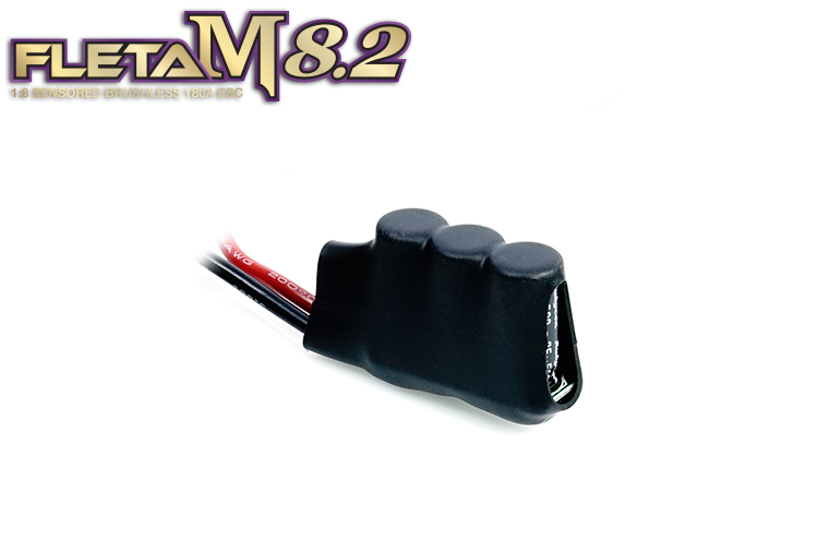 ME-FLM82 FLETA M8.2 Competition 1/8th Scale Brushless ESC 180A Black  FLETA M8.2 コンペティション 1/8用 ブラシレスESC 180A ブラック仕様