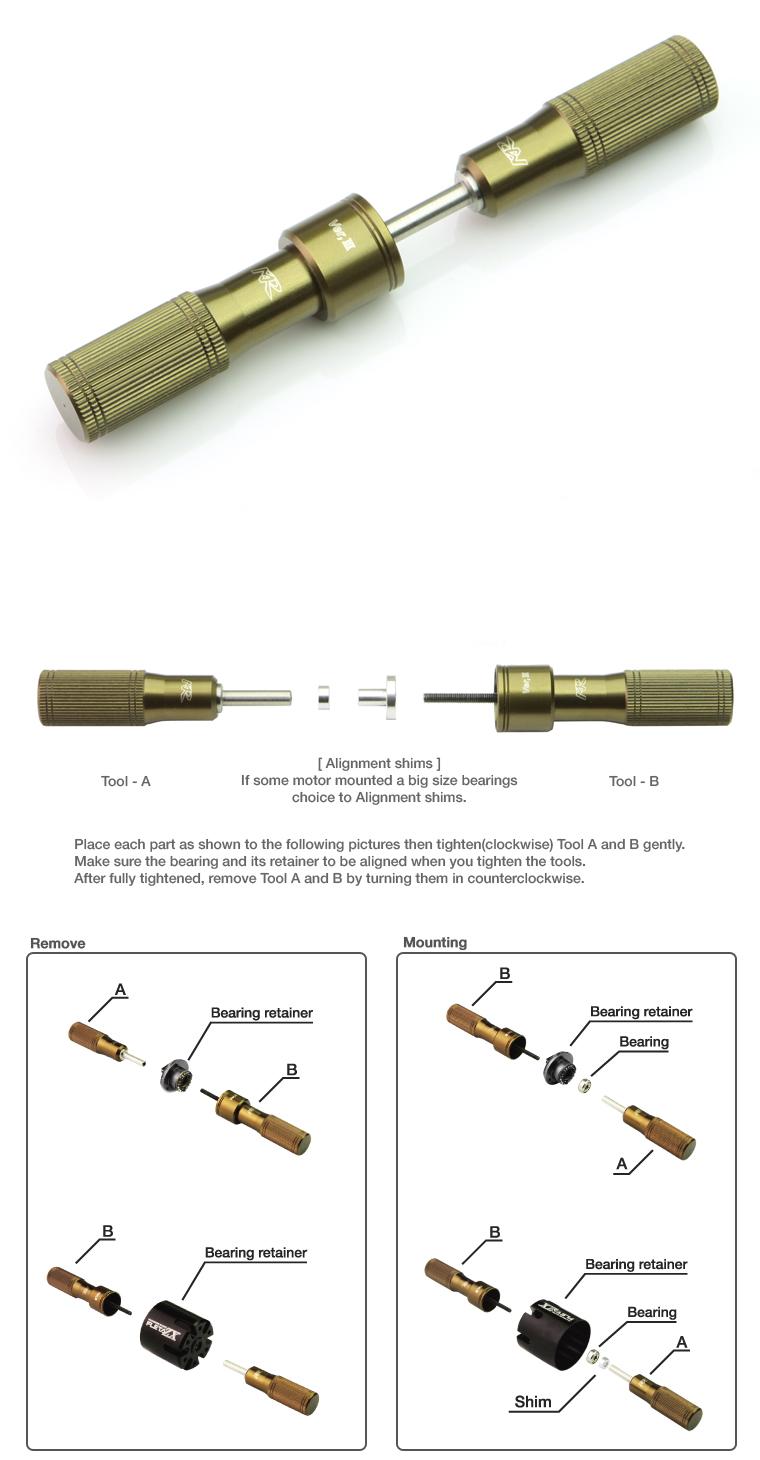 Motor Bearing Puller
