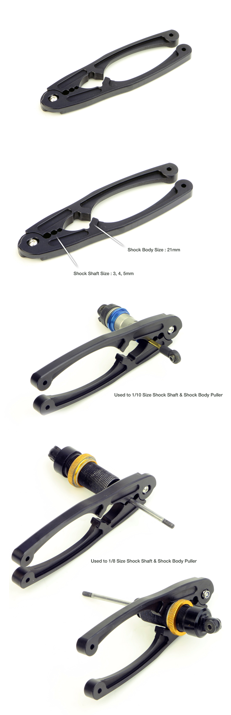 MR-MSMT Multi Shock Maintenance Tool (Shock Shaft & Shock